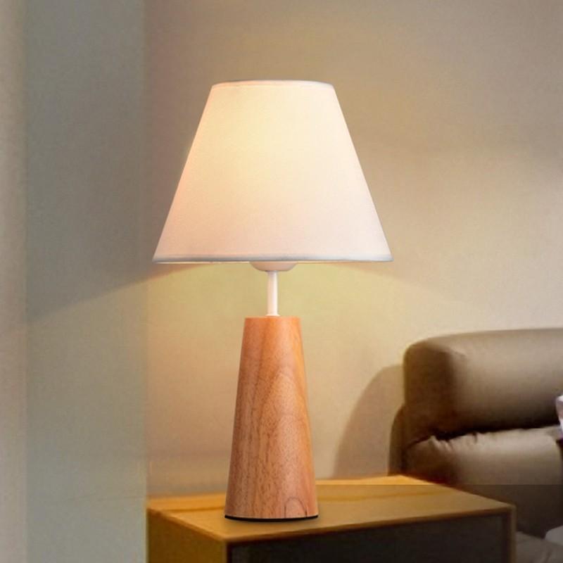 Đèn bàn Kinie hình nấm trong trang trí phòng khách