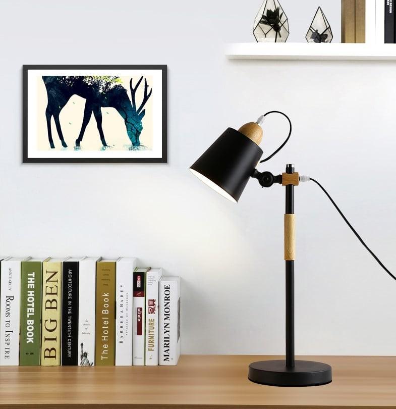 Đèn bàn Ladie trang trí không gian phòng làm việc