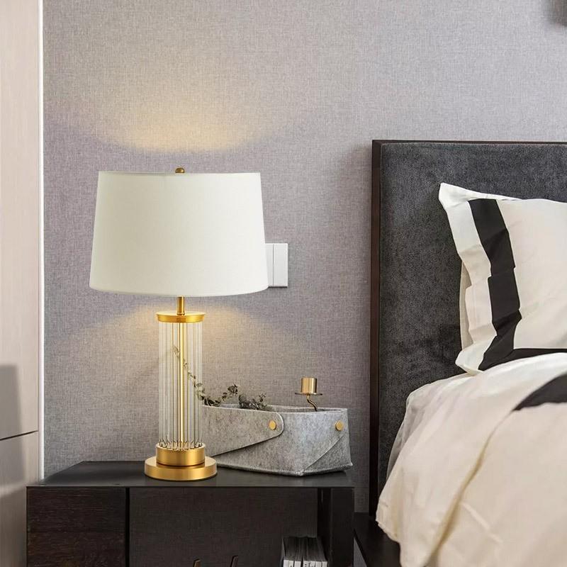 Đèn Lima tô điểm cho không gian phòng ngủ