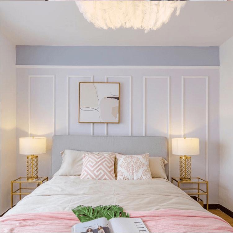 Bộ đôi đèn ngủ Melina  trang trí không gian phòng ngủ ngọt ngào