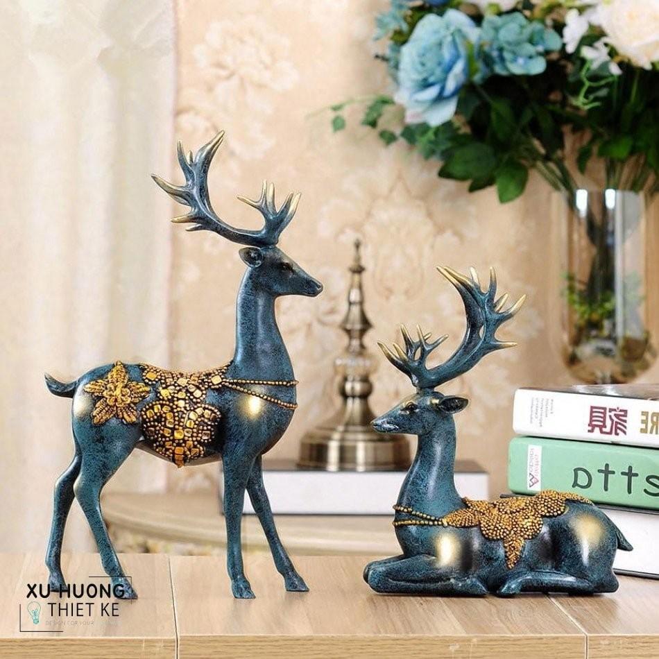 Tượng trang trí Hemia Deer