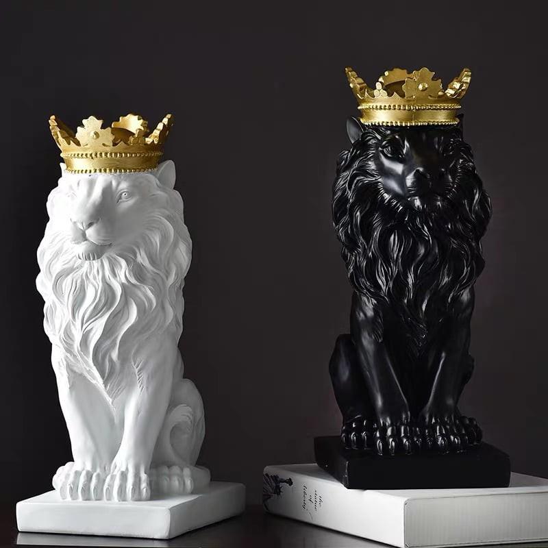 Tượng trang trí Majestic Lion