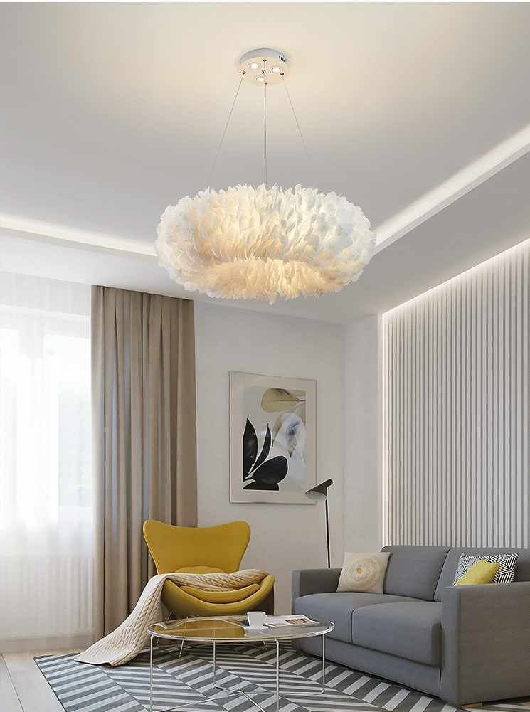 Đèn thả trần Romeo De Juliet trong không gian phòng khách