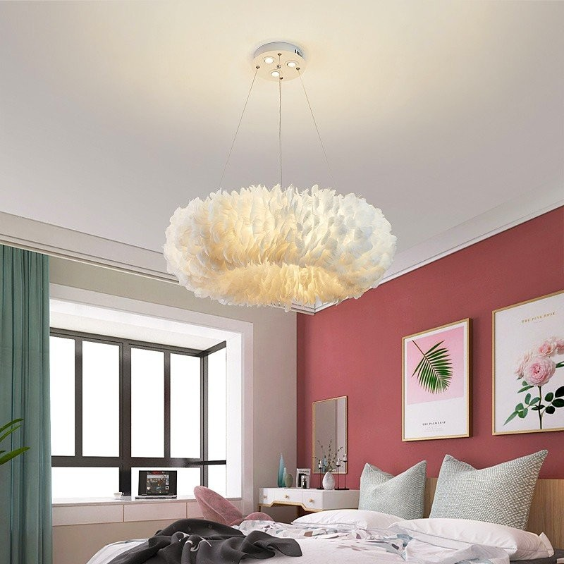Đèn thả trần Romeo De Juliet trong không gian phòng ngủ