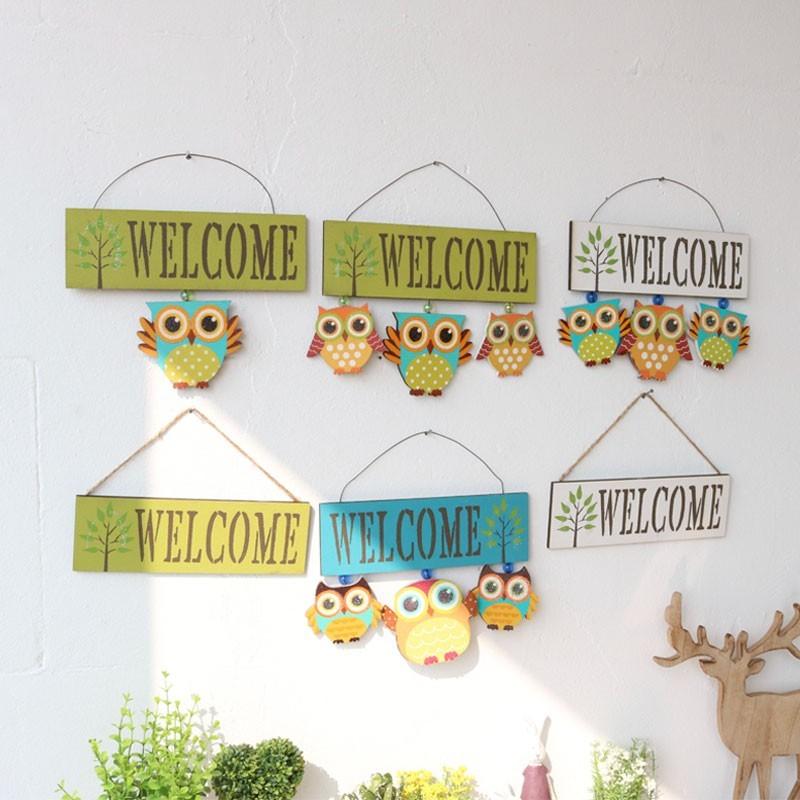 Bảng Welcome gia đình Cú Vọ