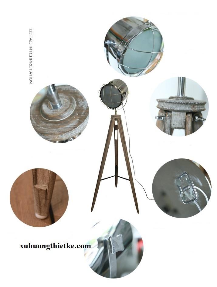 Cấu trúc và thành phần của đèn cây đứng Firmost
