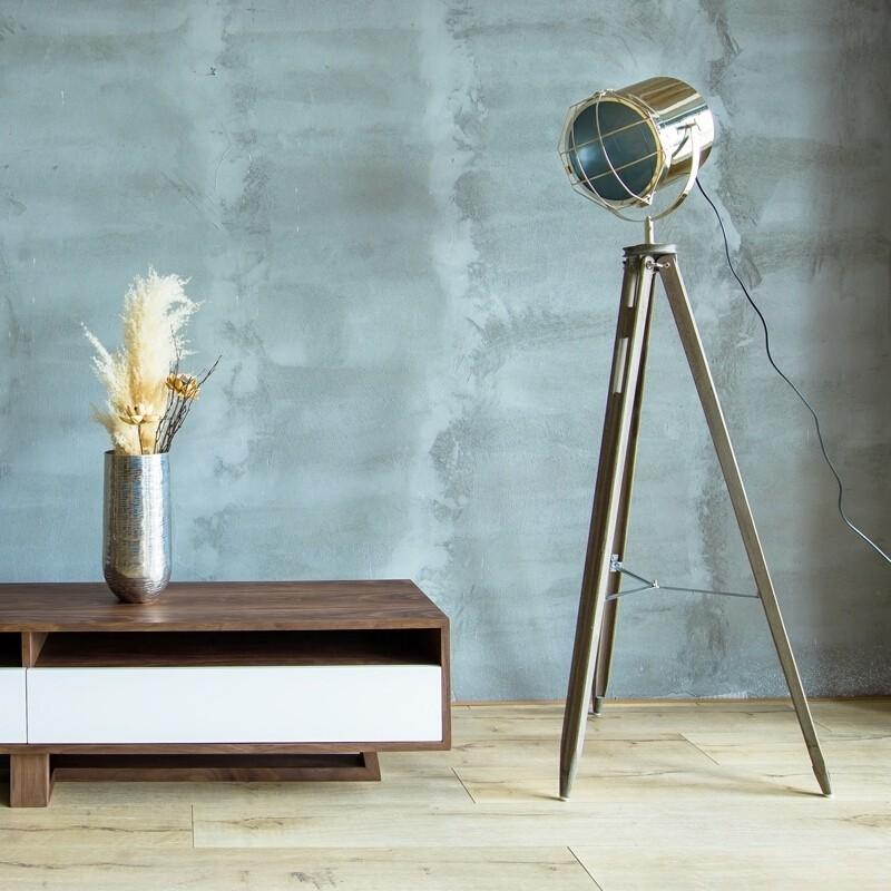 Vẻ đẹp của đèn đứng Firmost trong không gian phòng phong cách Minimalism tối giản