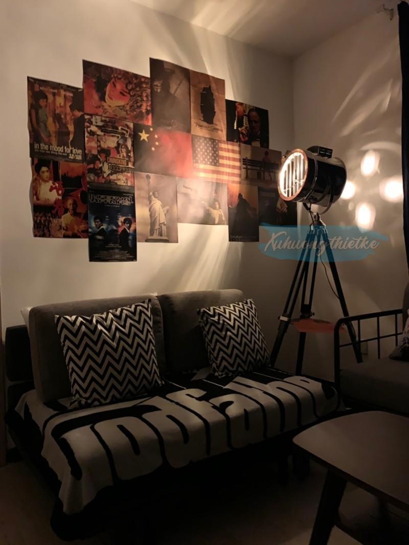 Đèn cây Horus Lighting trong không gian Retro, pha lẫn Steampunk