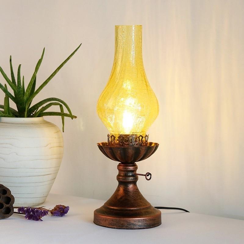 Đèn dầu Ritro thích hợp là mẫu đèn thờ cúng trang trọng cho không gian bàn thờ