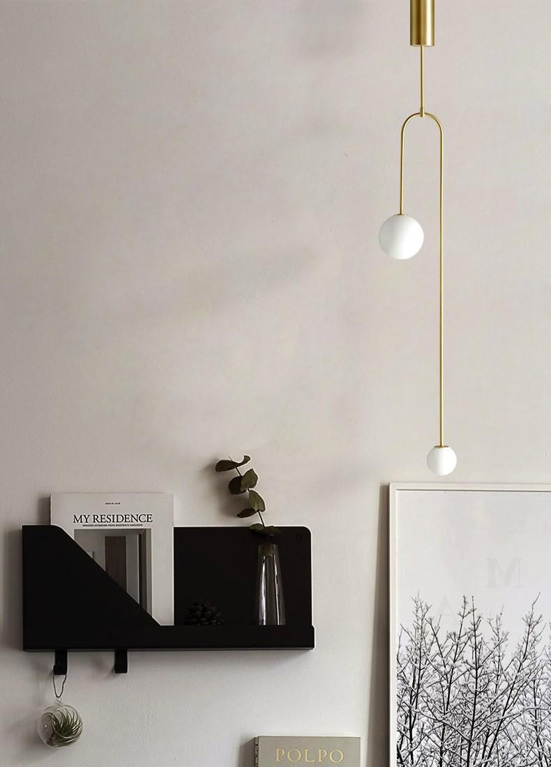 Đèn thả trần Balance mang phong cách Minimalist tối giản