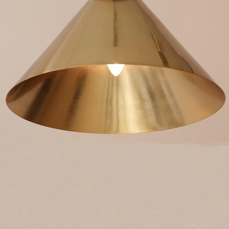 Chụp đèn treo thả trần Golden Ziczac