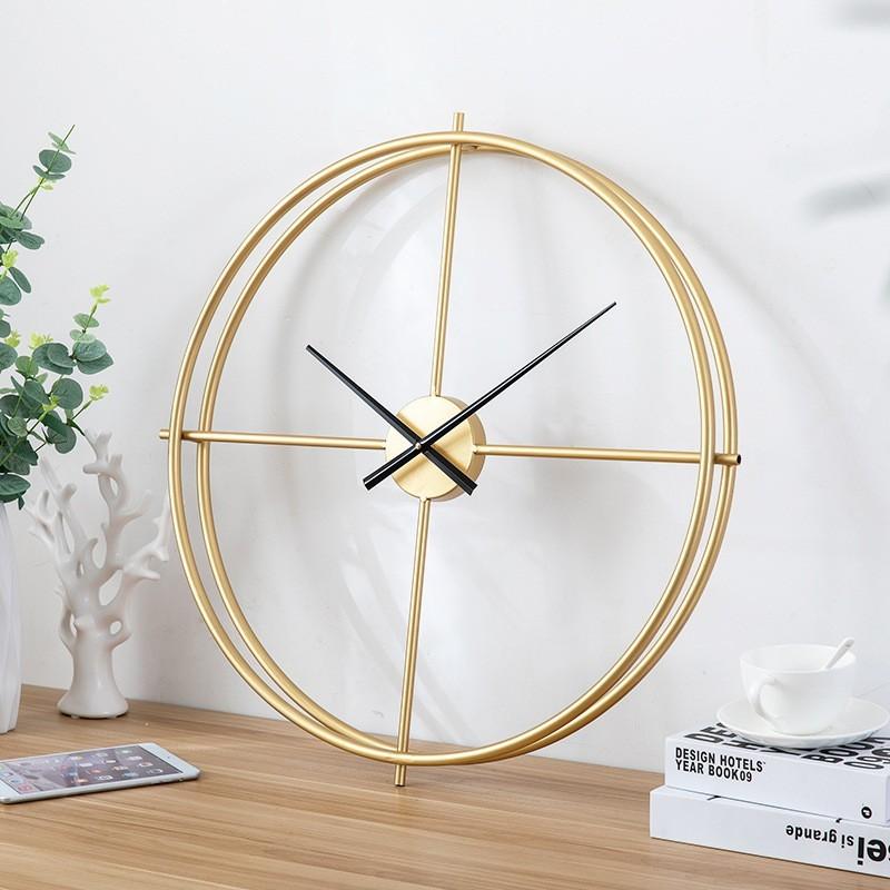Đồng hồ treo tường Golden Ricos với thiết kế tối giản sang trọng