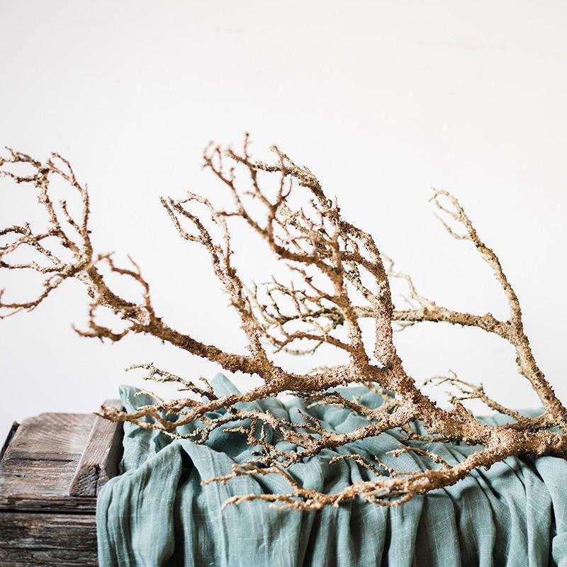 Vẻ đẹp của cành cây khô trang trí