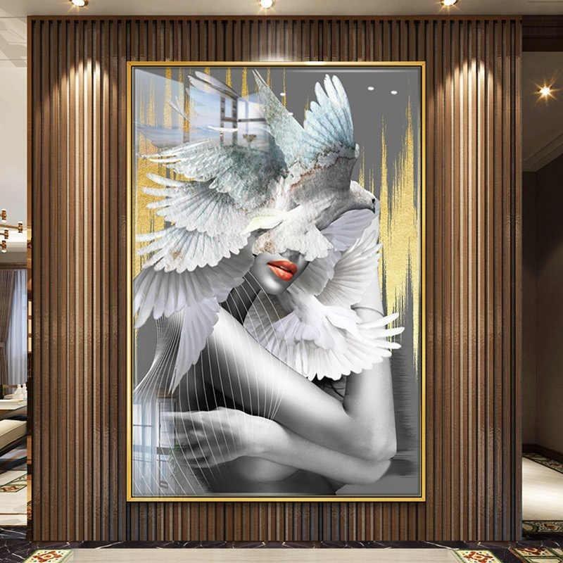 Vẻ đẹp của tranh nude nghệ thuật Natural Wings