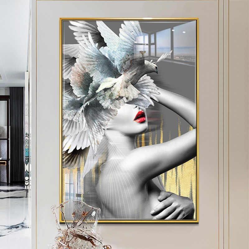Tranh nude nghệ thuật thích hợp trang trí quán bar, spa,..