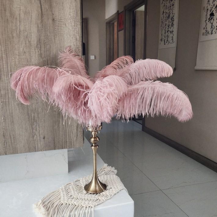 Bình lông vũ trang trí phong cách cổ điển ngọt ngào