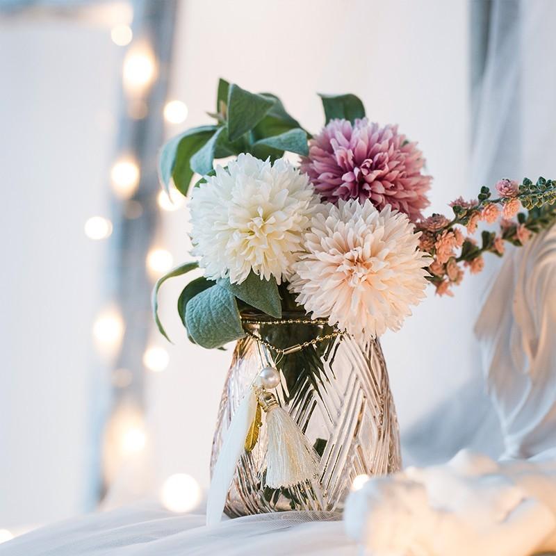 Bình hoa Lilimay trong set phối với bình cắm cao