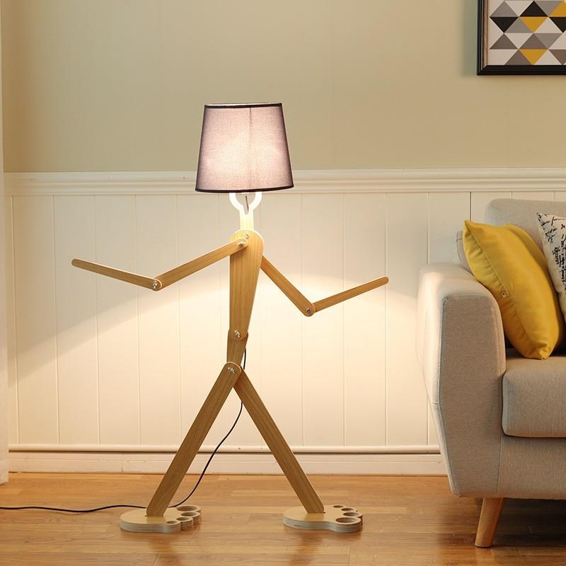 Đèn cây Gemini trang trí phòng khách