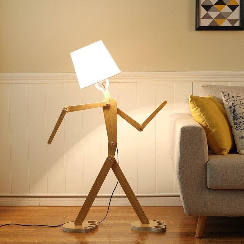 Các khớp tay của đèn cây Gemini có thể dễ dàng tùy chỉnh theo ý muốn của bạn