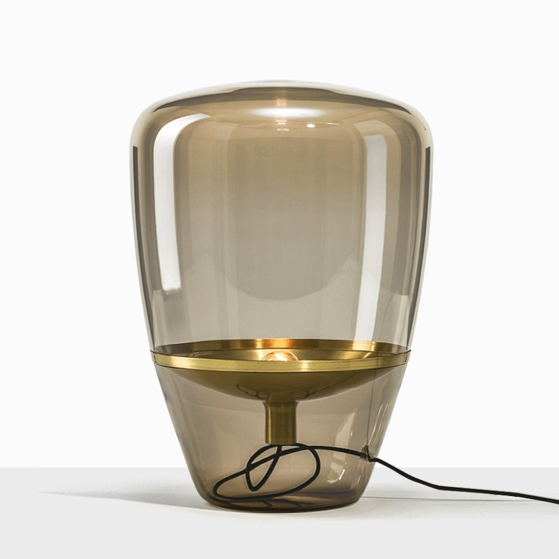 Đèn thủy tinh Jamas để bàn phong cách hiện đại