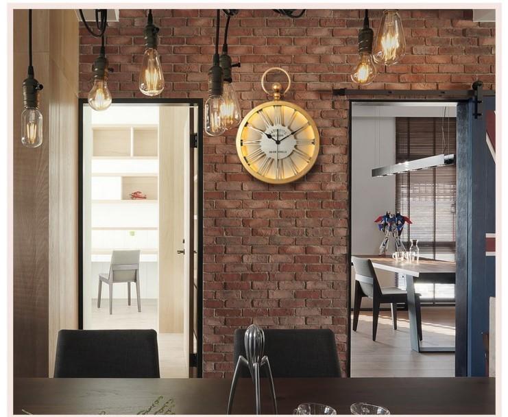 Đồng hồ Retro Old Style thích hợp trang trí những không gian mang nét retro hoài cổ
