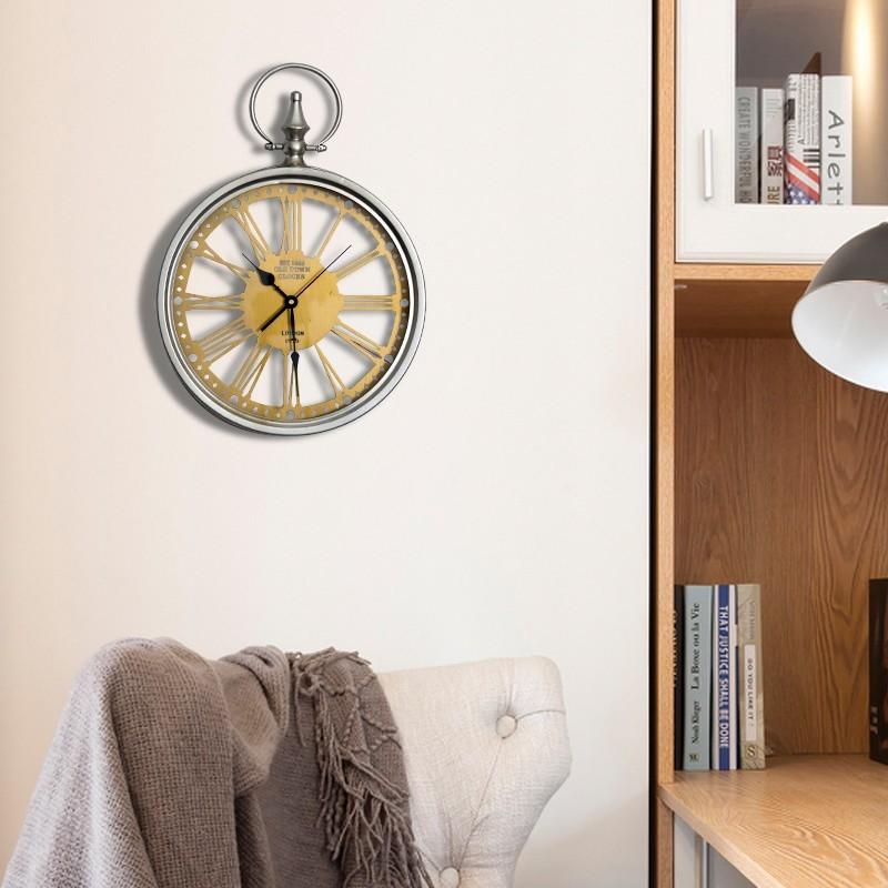 Đồng hồ đèn Led treo tường Retro Old Style