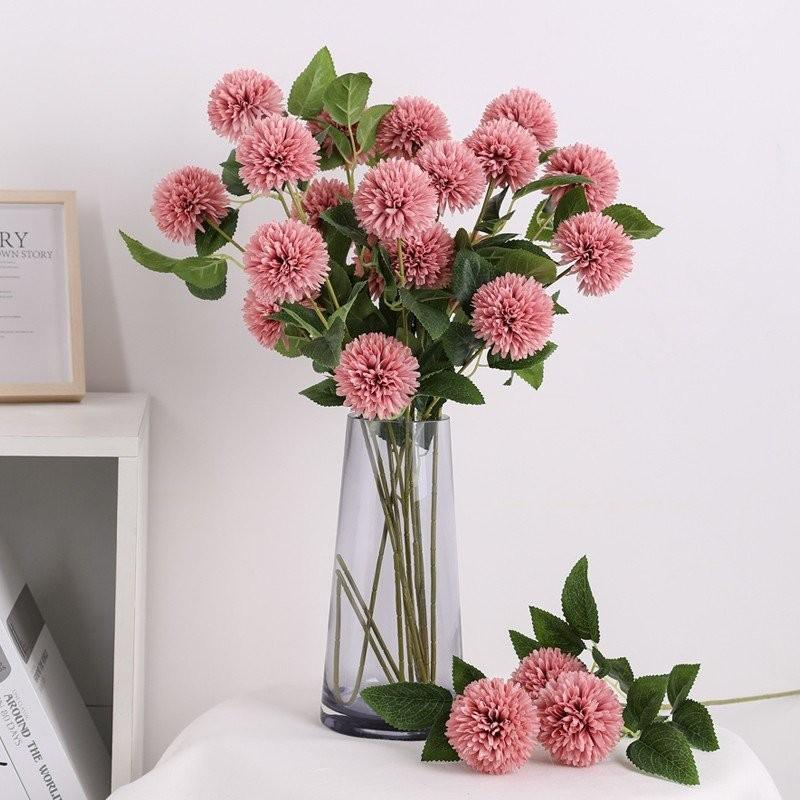 Hoa cẩm tú cầu giả trang trí