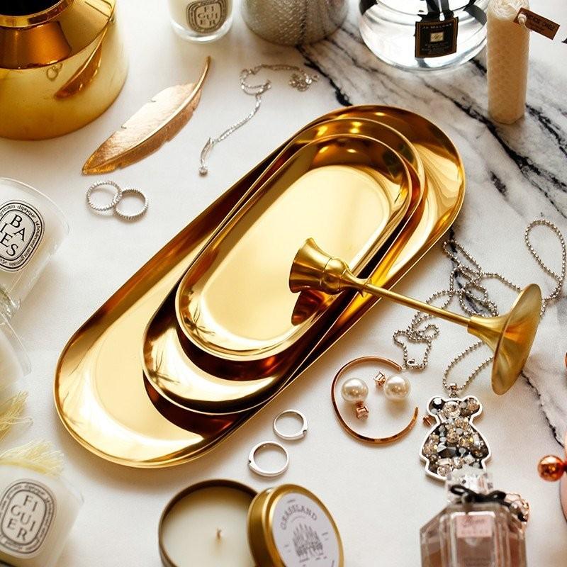 Khay trang sức Mintalic vàng