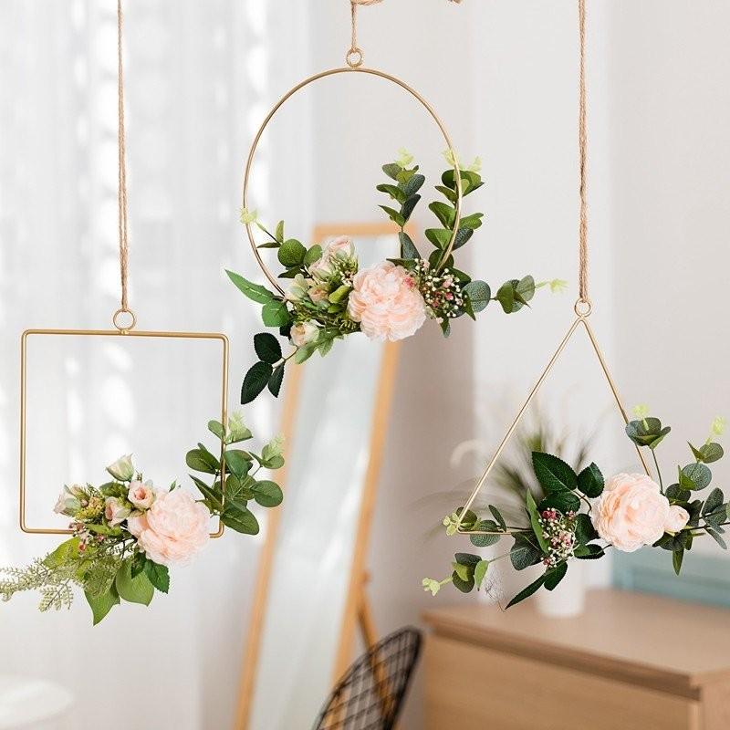 Bộ sản phẩm vòng hoa ecos dream trang trí theo phong cách Bắc Âu