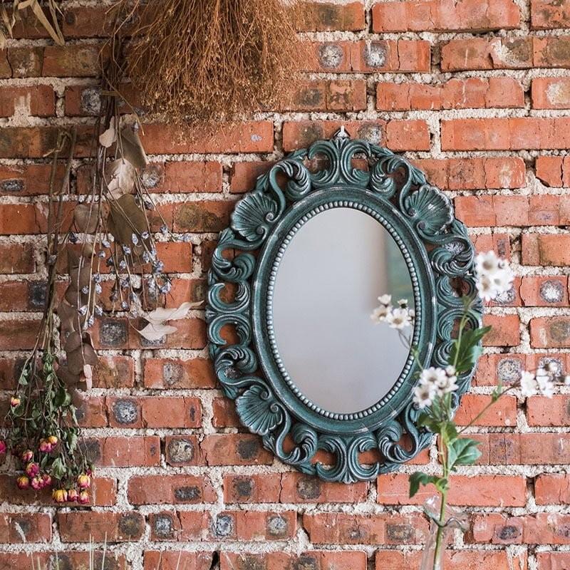 Vẻ đẹp ngọt ngào của gương treo tường cổ điển