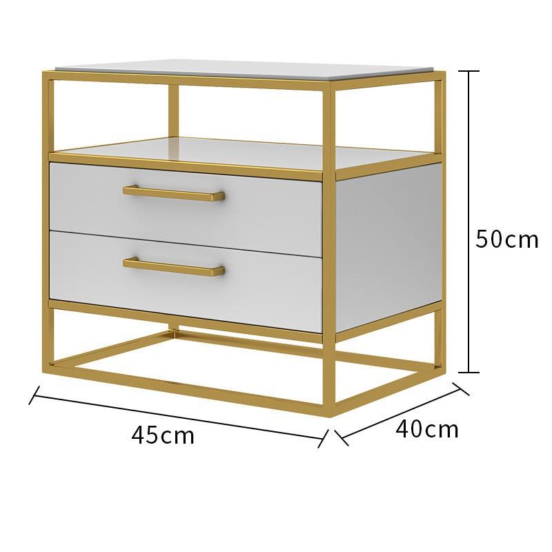 Kích thước Tab đầu giường Nordic Ins