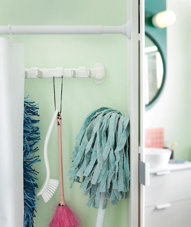 Hãy giấu nhẹm đi cây lau nhà trong không gian phòng tắm của bạn