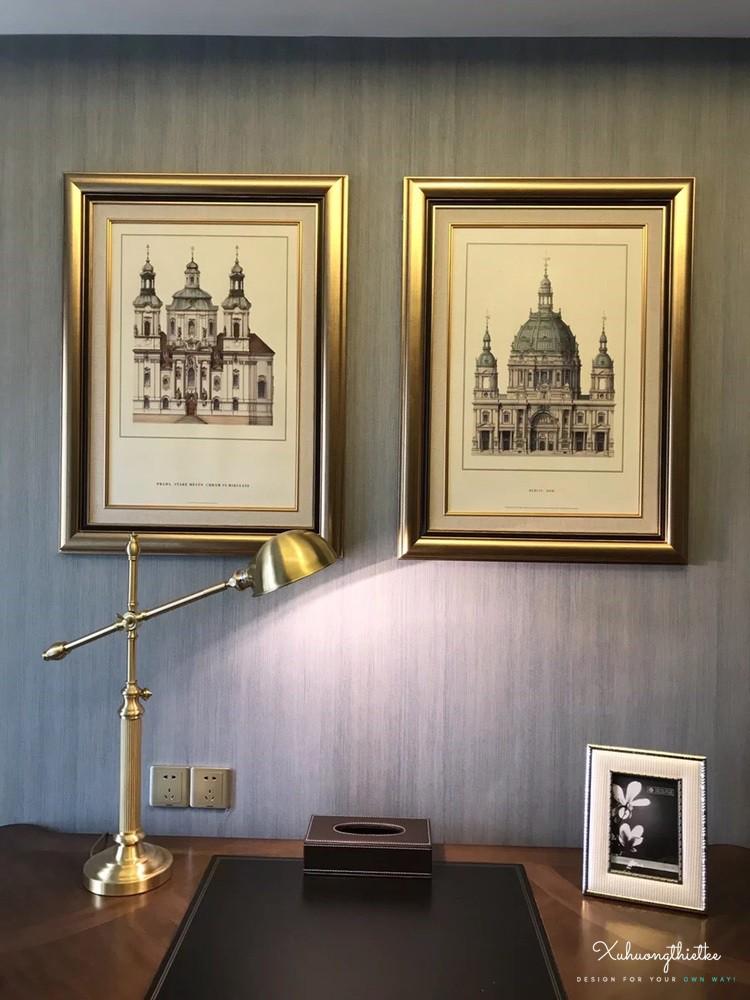 Sản phẩm đèn để bàn trang trí thích hợp với không gian cổ điển sang trọng