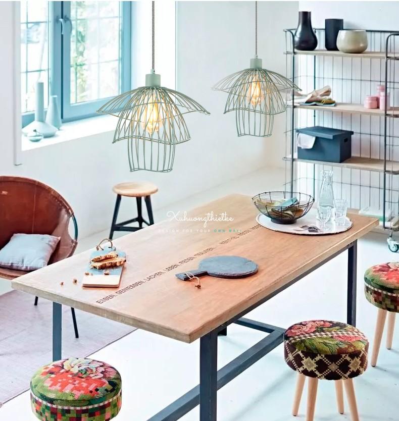 Điểm tô không gian bàn theo phong cách Scandinavia ấm áp