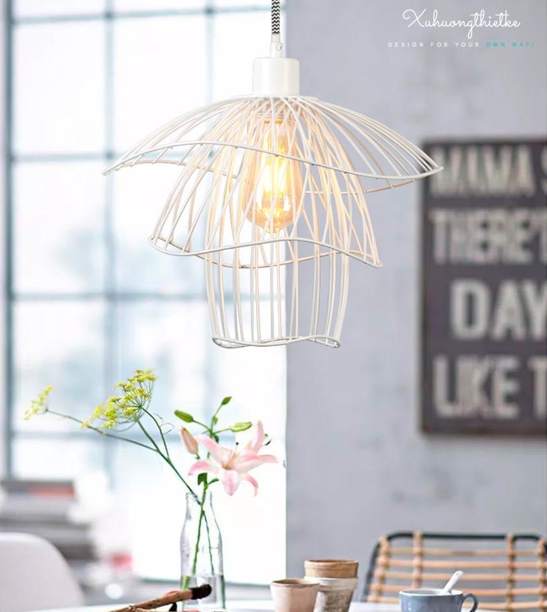 Vẻ đẹp của đèn Rosy trong không gian phòng khách