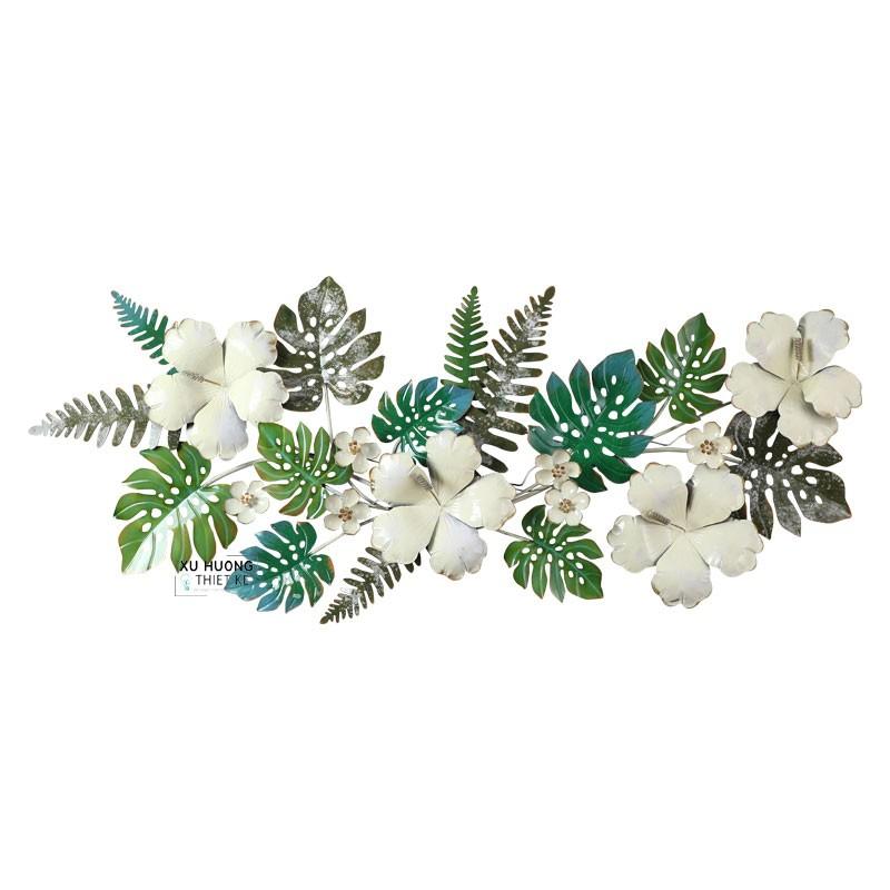 Tranh sắt nghệ thuật Tropical Flowers