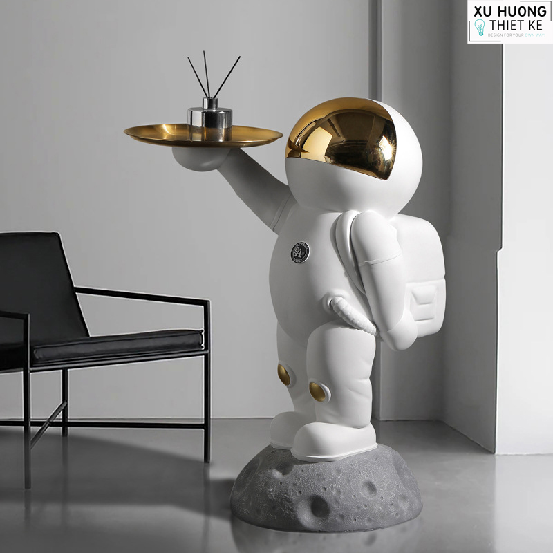 Mô hình phi hành gia cao cấp trang trí phòng khách